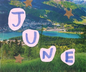 aesthetic and june image