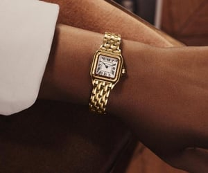 cartier, jewelry, and watch image