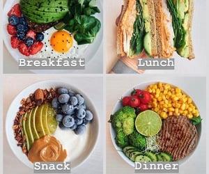 avocado, healthy, and snack image