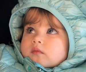 baby, beautiful, and blue image