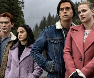 veronica lodge, archie andrews, and riverdale image