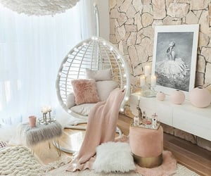 design, home, and pink image