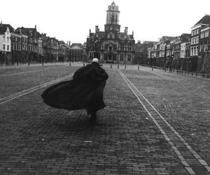 70s, black and white, and Dracula image