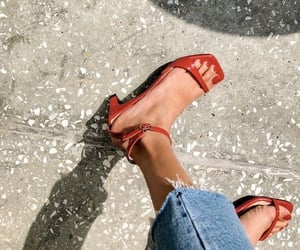 fashion, sandals, and summer image