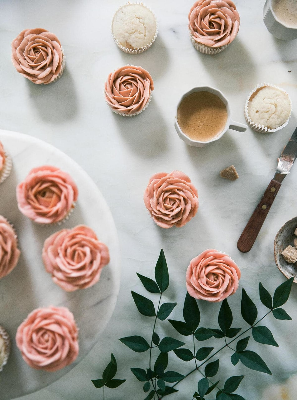 article, cappuccino, and roses image