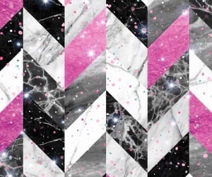 geometric, glitter, and marble image