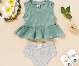 fashionable, toddler clothes, and comfy clothes image