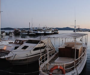 boat, europe, and sea image