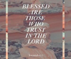 bible verse and jeremiah 17:7 image