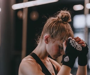 fitness, boxing, and health image