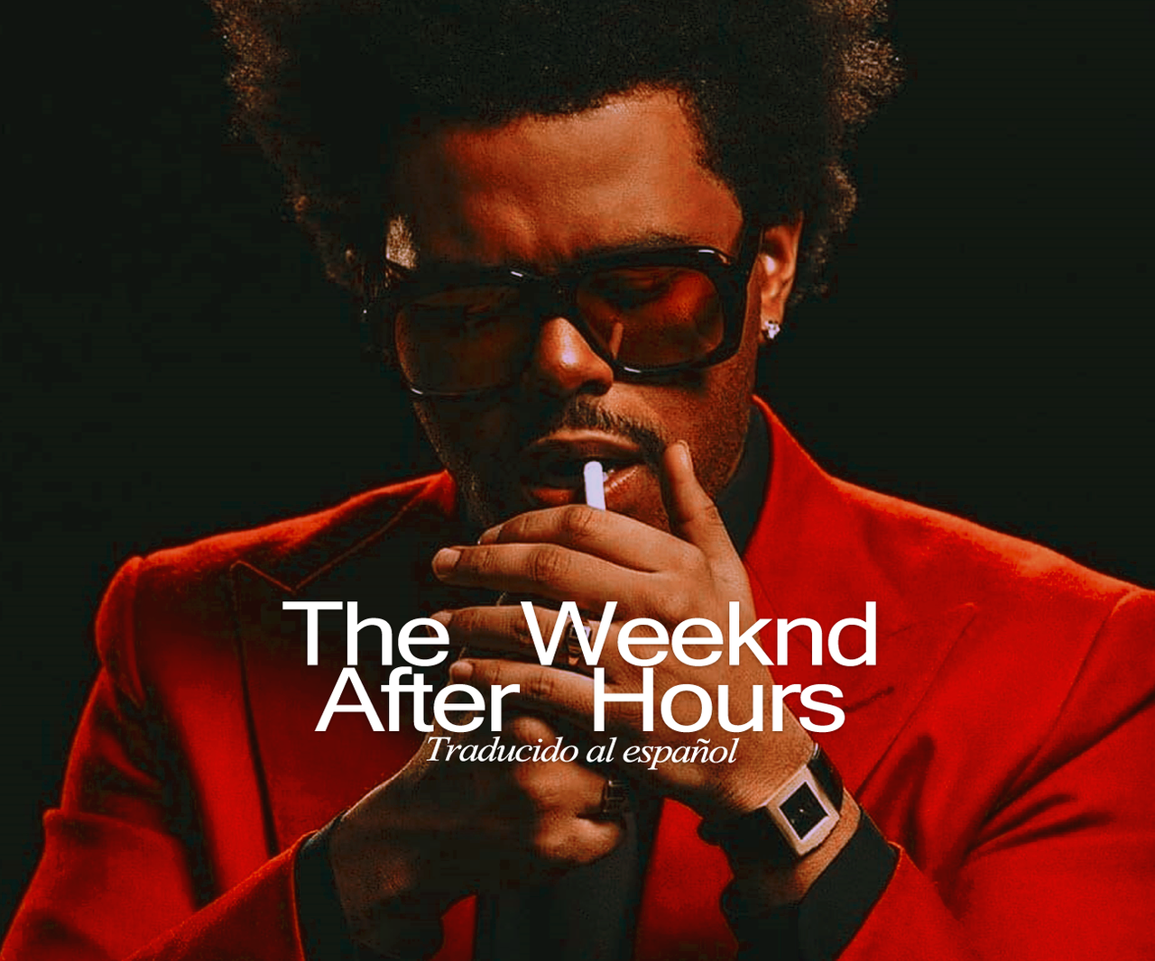 After Hours, blinding lights, and the weeknd image