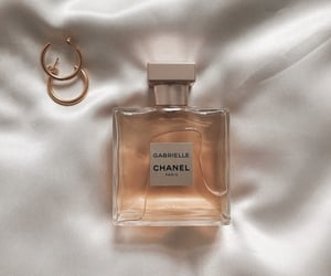 chanel, earrings, and perfume image