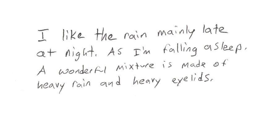 rain, quotes, and night image