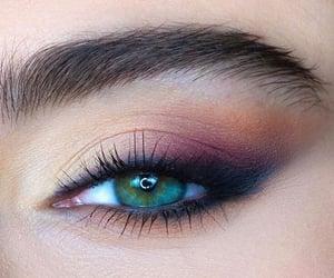 eye, inspiration, and makeup image