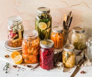 food, fresh, and glass image