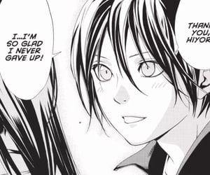 manga, yato, and noragami image