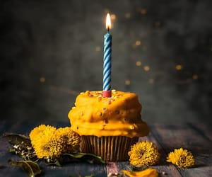 birthday, bokeh, and candle image