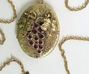 etsy, vintage lockets, and whiting and davis image