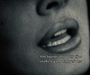 lips, quotes, and aesthetic image