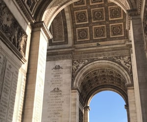 aesthetic, arc de triomphe, and france image