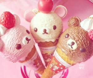 food, icecream, and cute image