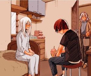 natsu, todoroki, and åhoto image