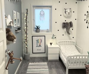 baby room, home, and decor image