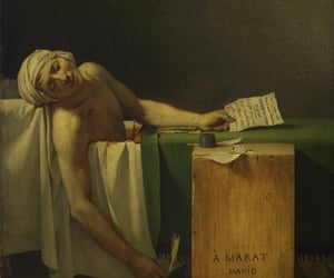 art, france, and blood image