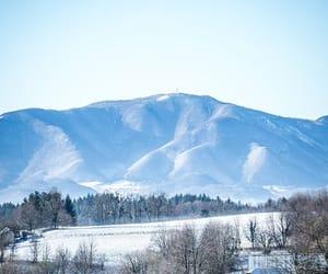 Croatia, mountain, and winter image