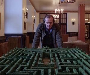 The Shining, 1980, and jack nicholson image