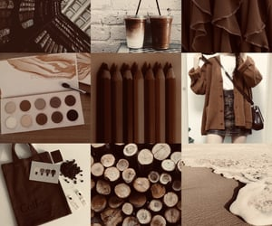 aesthetic, brown aesthetic, and aesthetics image