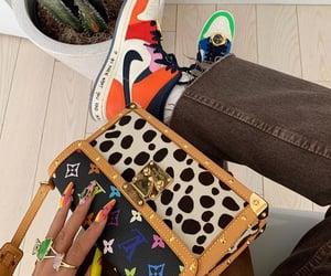 bag, Louis Vuitton, and nike image