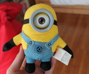 minion, stuffed toy, and cute image