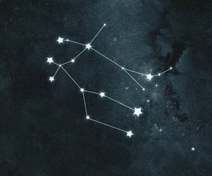 constellation, galaxy, and navy blue image
