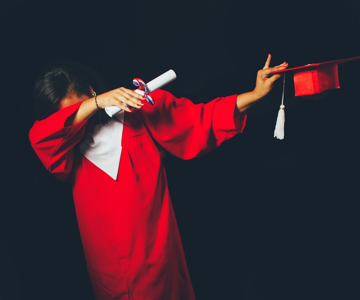 article, focus, and graduation image