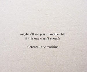 florence and the machine, Lyrics, and melancholy image