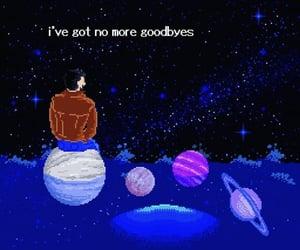 goodbye, pixel, and world image