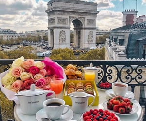 paris, food, and breakfast image