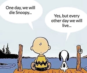 life, peanuts, and snoopy image