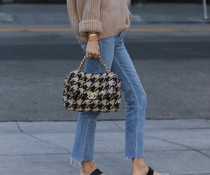 bag, classic, and knit image