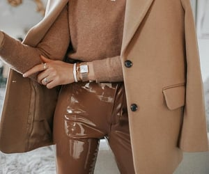 beige, camel, and classic image