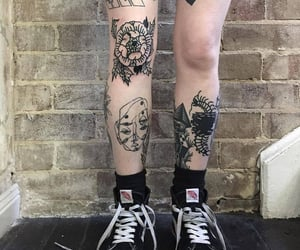 tattoo, vans, and aesthetic image
