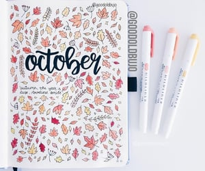 autumn, decor, and drawings image