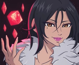anime, badass, and merlin image