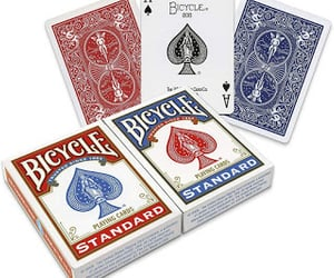 games, poker, and bicycle playing cards image