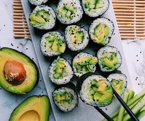 food, avocado, and style image