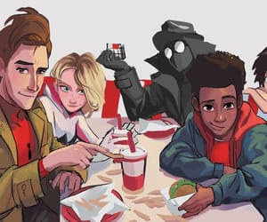 gwen, Marvel, and miles image