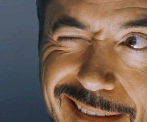 dark eyes, Hot, and iron man image