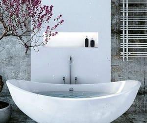 aesthetic, tub, and bath image