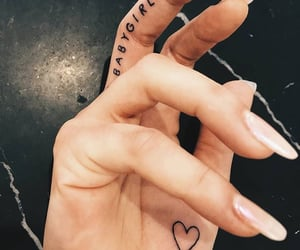 black, heart, and tattoos ideas image